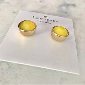 KATE SPADE Yellow Stud Earrings